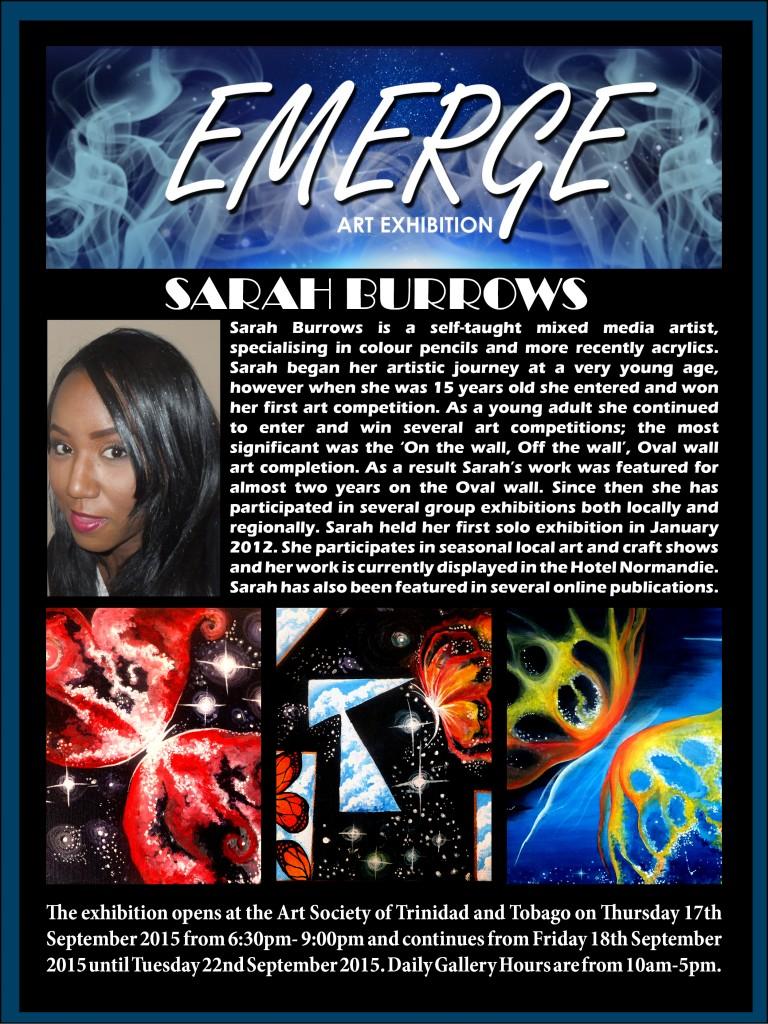 Emerge art Exhibation pr2(Sarah Burrows)