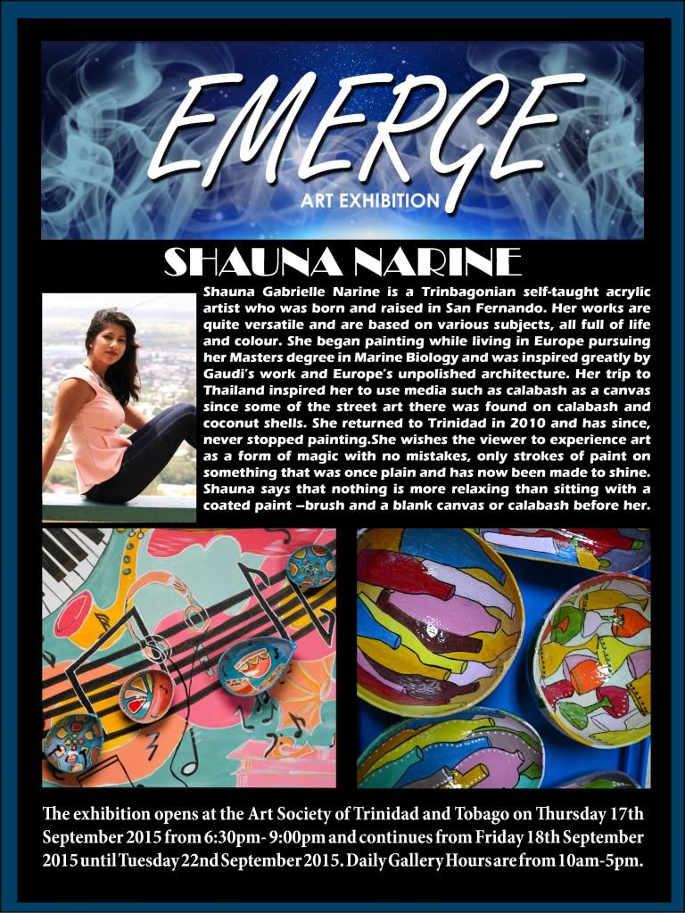 Emerge art Exhibation pr6(Shauna Gabrielle Narine )
