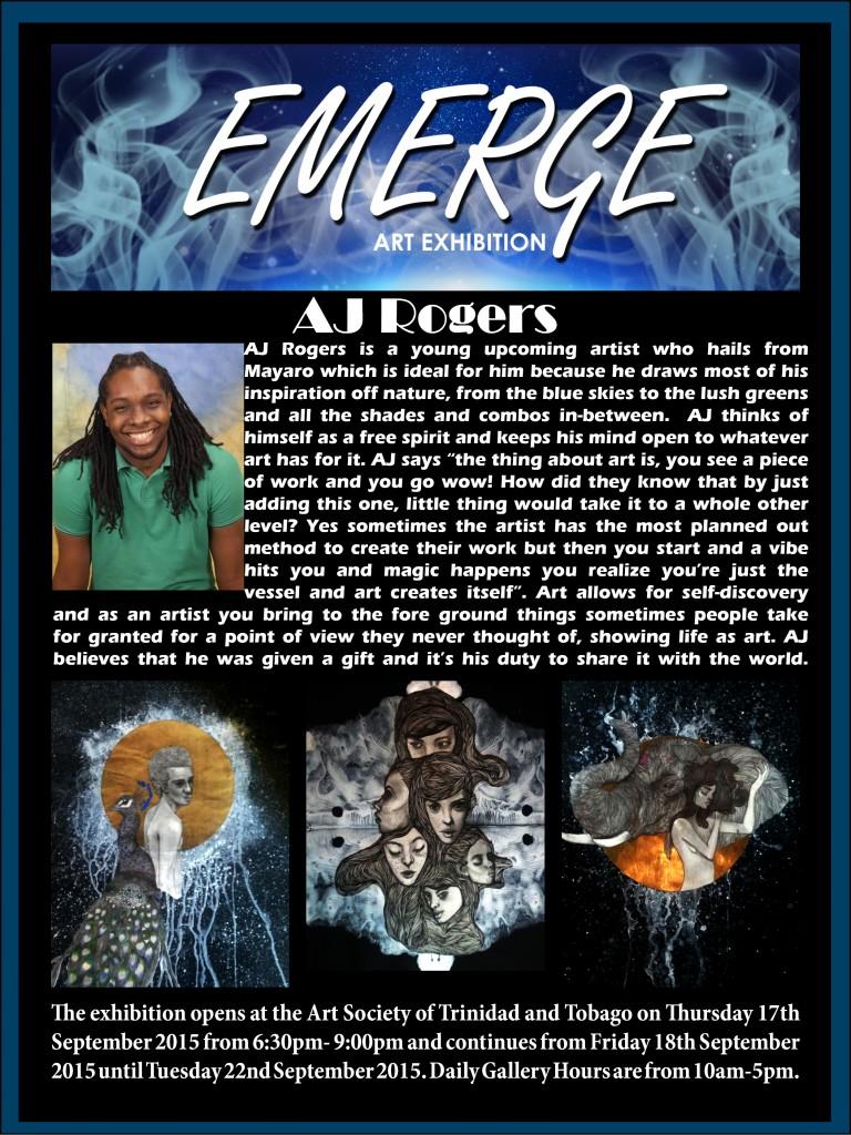 Emerge art Exhibation pr(AJ Rogers)