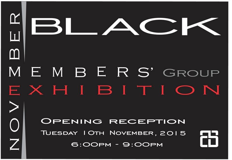 Nov 2015 exhibition Black