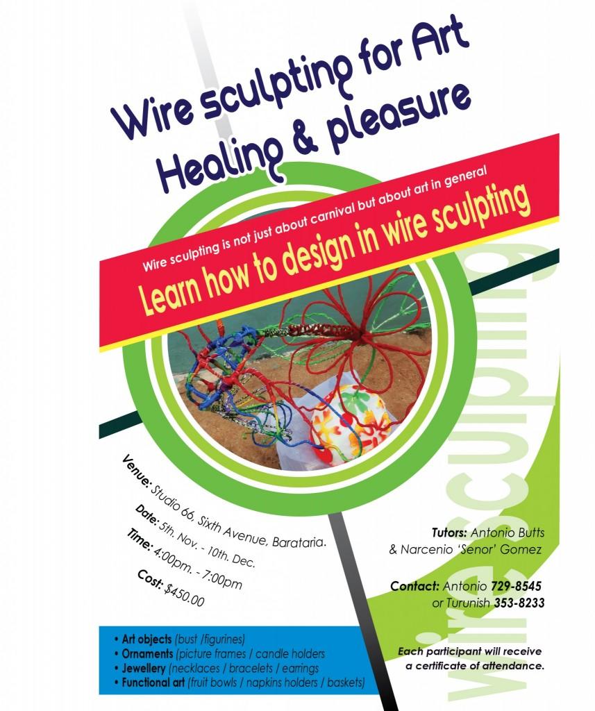Wire course web