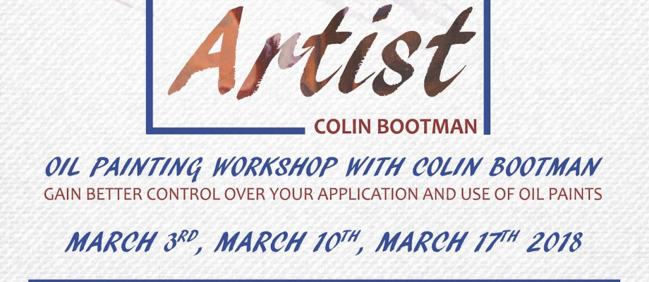 Oil Painting Workshop with Colin Bootman