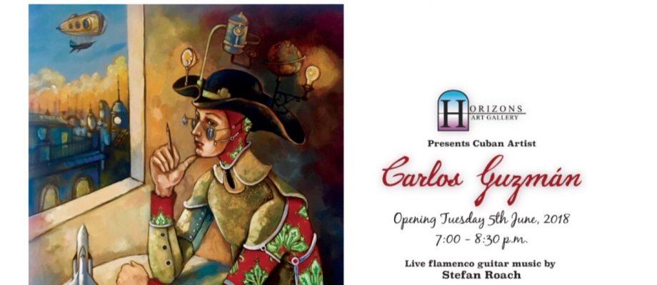 Horizons Art Gallery presents Carlos Guzman